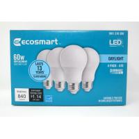 4x daylight 12 watt energy led light bulb replacement 480 lumens 100w output